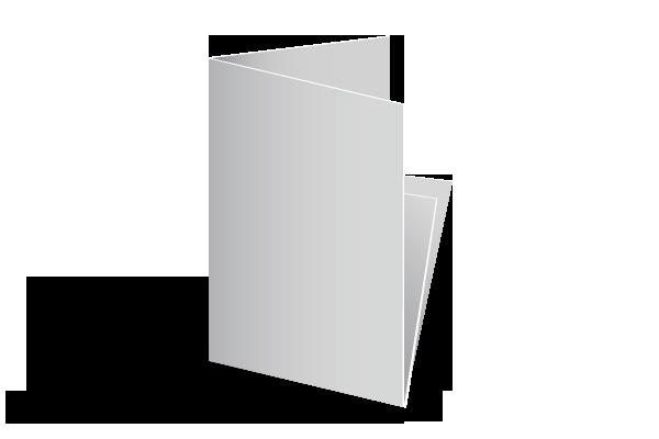 Dépliant 2 plis croisés décalés Offset 5 - Création et Impression 100% Française