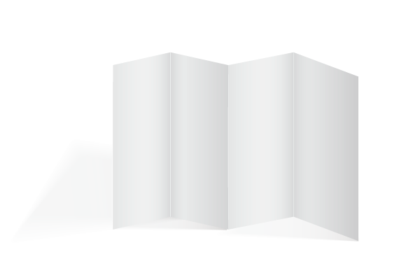 Dépliant pli accordéon ou pli zigzag Offset 5 - Création et impression 100% Française