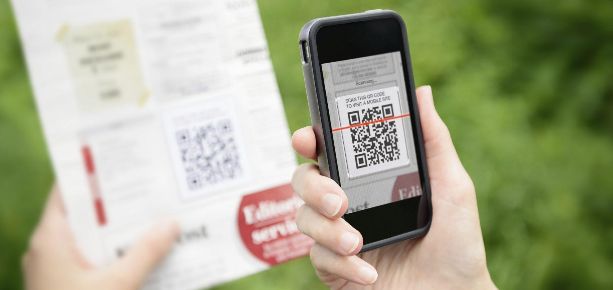 Impression QR Code Flyer