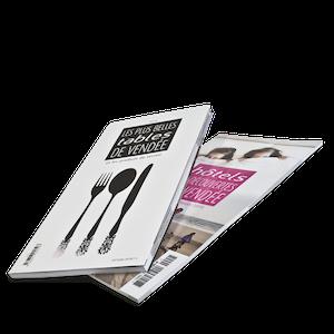Impression brochures dos carré collé