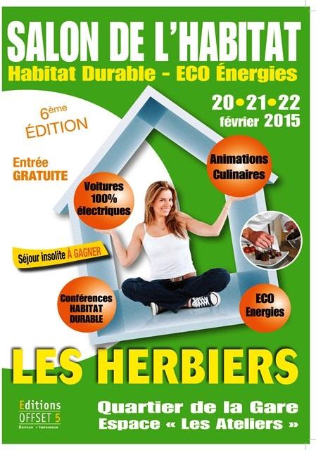 Gde affiche salon herbiers 2015 imprimerie offset 5 edition for Salon imprimerie
