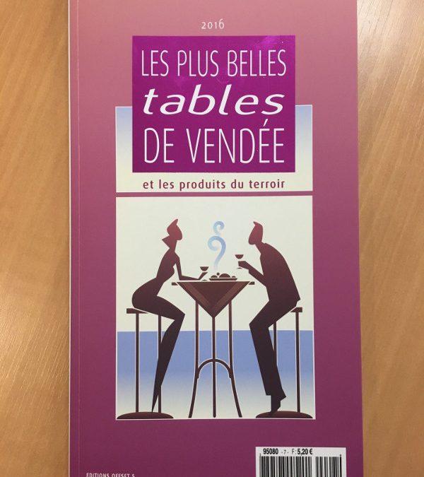 Les plus belles table de vendée