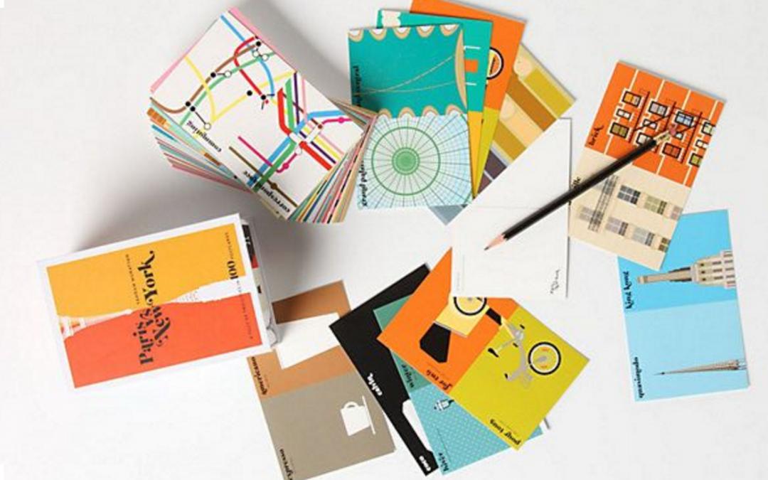 Les cartes postales imprimées – Efficacité et simplicité