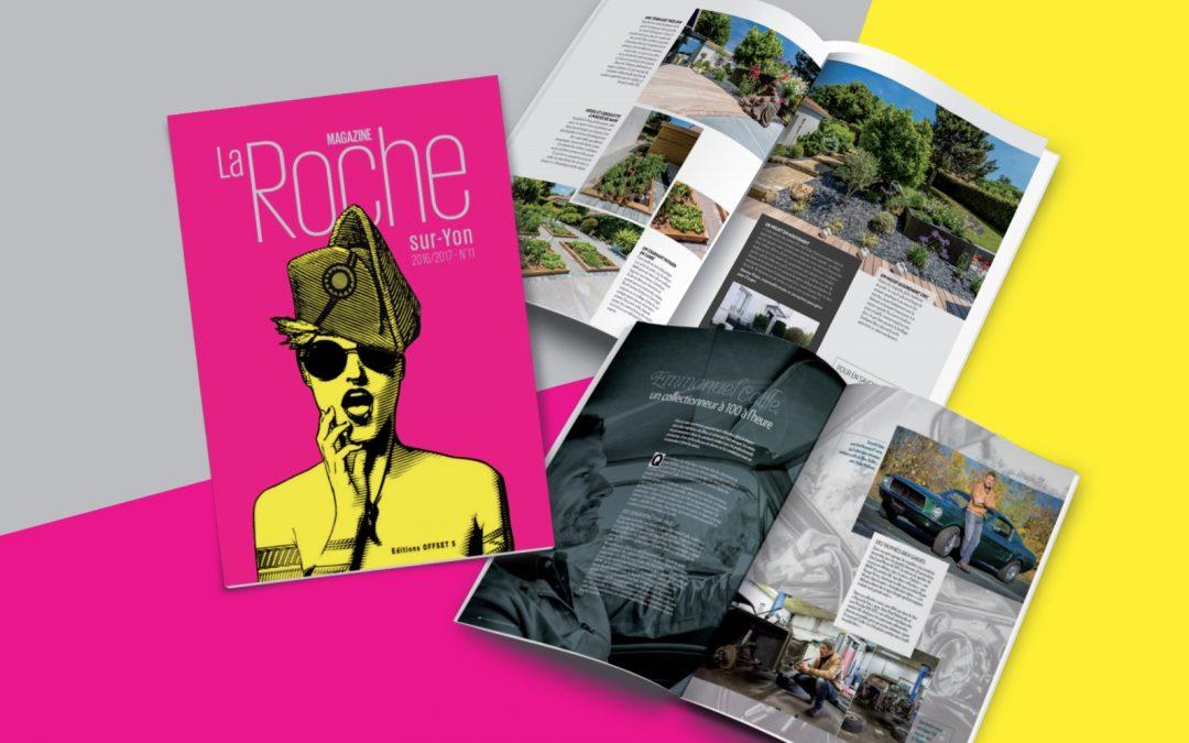 Lancement de La Roche-sur-Yon Magazine, Editions N°11 par les Editions Offset 5.