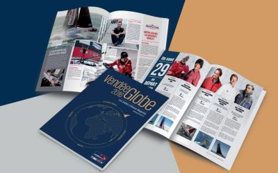 Lancement du Vendee Globe Magazine par les Editions Offset 5.