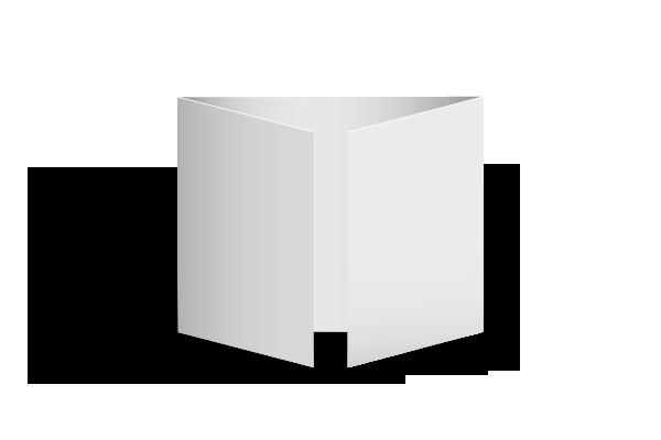 Dépliant 2 plis fenêtres Offset 5 - Création et Impression 100% Française