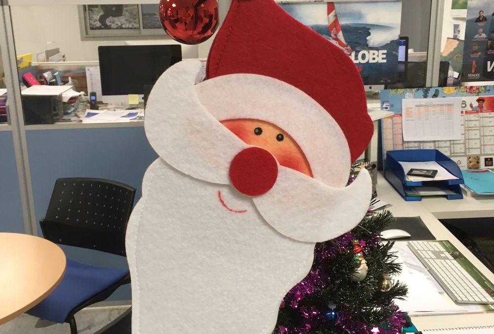 Qui qu'a le plus beau bureau de Noël?