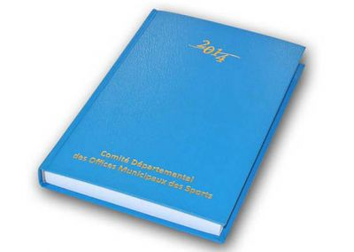 Agenda journalier 14,8×21 Offset 5