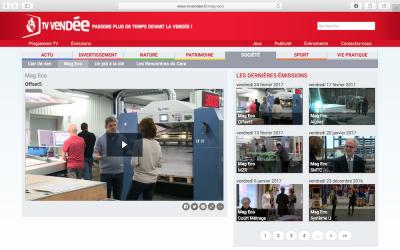 MAG ECO TV Vendée Offset 5 en Ligne !!