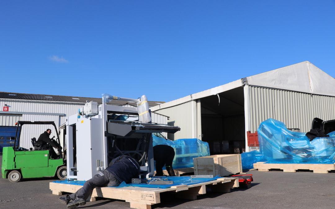 Pret, Feu, Pliez – L'équipe accueille trois nouveaux avions de chasse dans l'atelier !