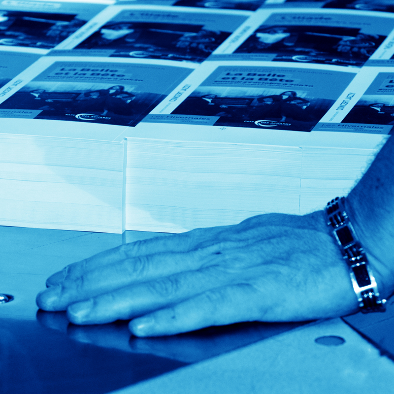 Imprimerie Offset 5 Édition Blue 06 Imprimeur Passionnément