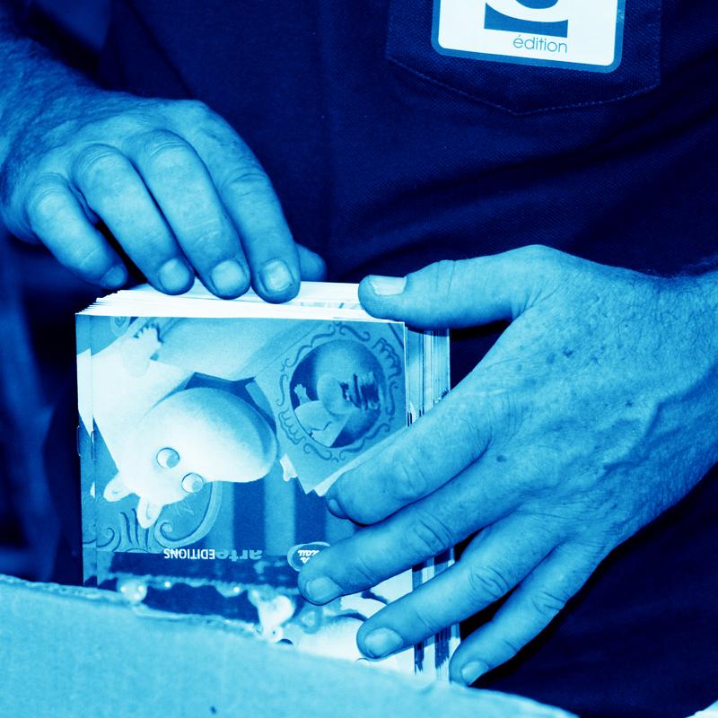 Imprimerie Offset 5 Édition Blue 09 Imprimeur Passionnément