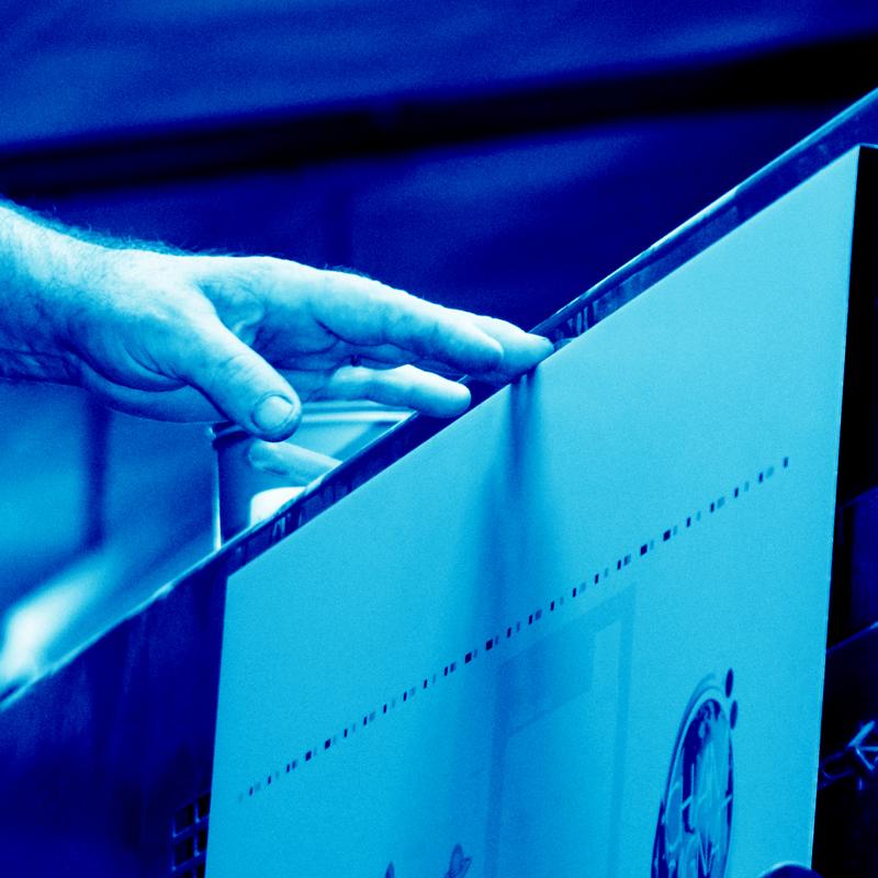 Imprimerie Offset 5 Édition Blue 14 Imprimeur Passionnément