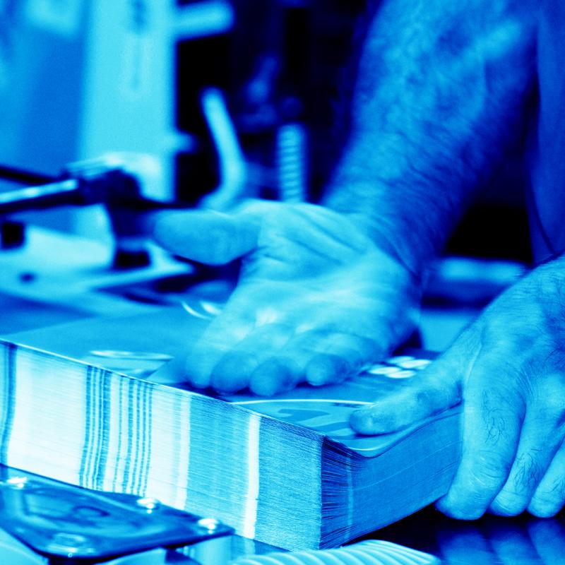 Imprimerie Offset 5 Édition Blue 15 Imprimeur Passionnément