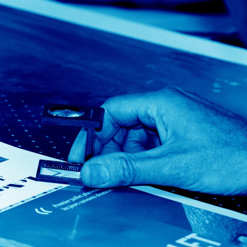Imprimerie Offset 5 Édition Blue 19 Imprimeur Passionnément