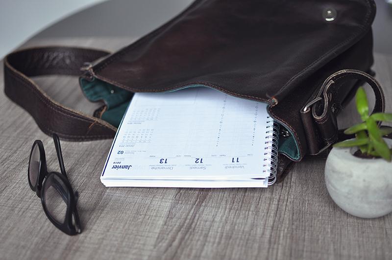 Agenda de bureau personnalisé