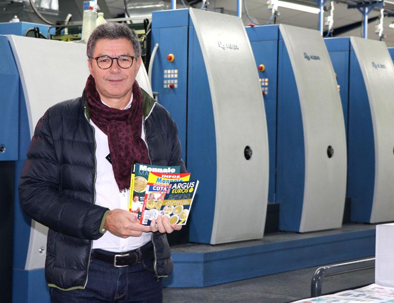 Imprimer un magazine mensuel – Témoignage client avec les Éditions de la Monnaie