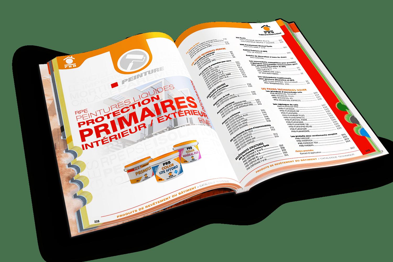 PRB digitalise son processus créatif imprimer un catalogue
