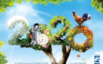 Nouveau catalogue Agendas – Notebooks – Calendriers. Vos produits de communication sur-mesure 100% Made in France !