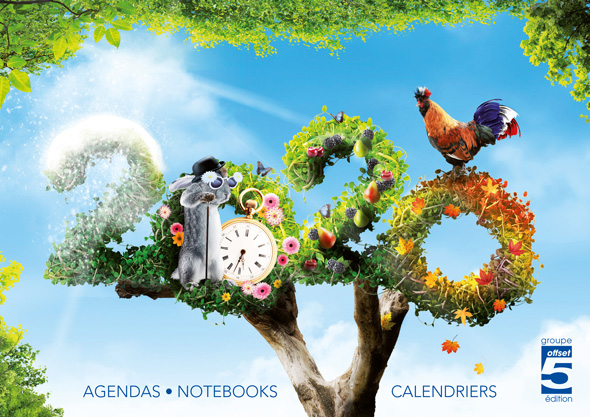 Nouveau catalogue Agendas – Notebooks – Calendriers. Vos produits de communication sur-mesure 100% Made in France !