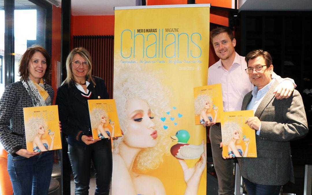 Lancement de la premiere édition du Mag. : Challans Magazine, Mer & Marais