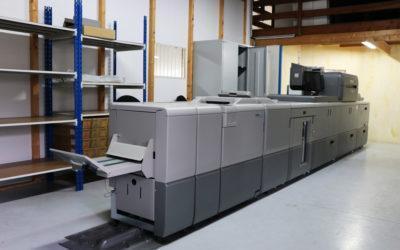 Une nouvelle recrue à l'Imprimerie