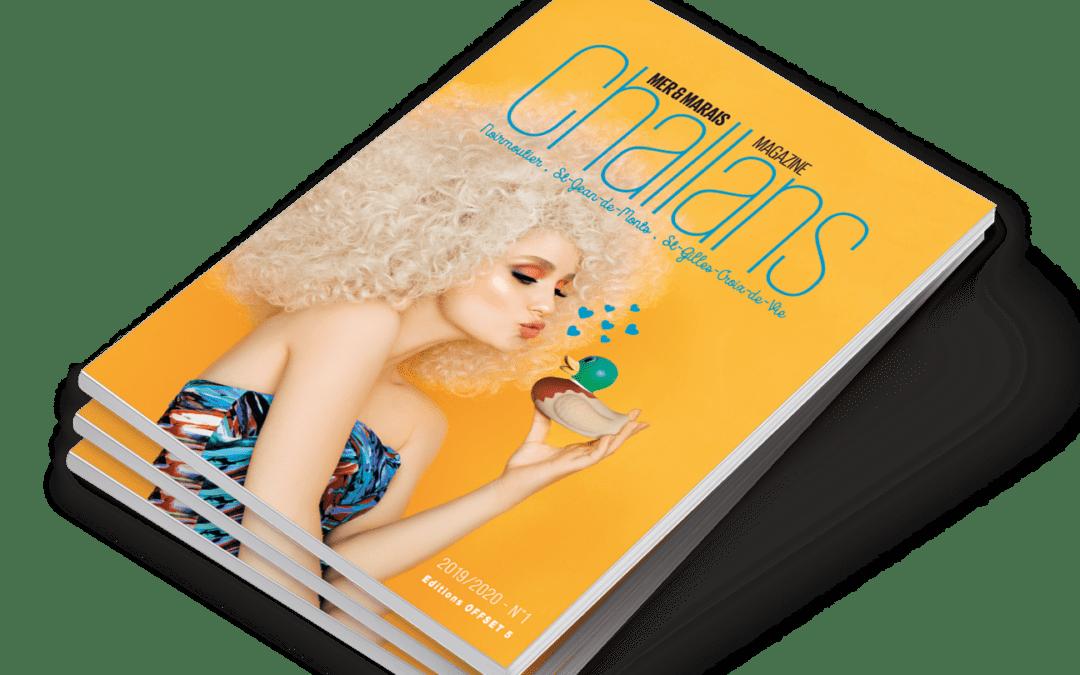Les Éditions Offset 5 lancent un nouveau magazine de prestige : Challans Mer & Marais Magazine