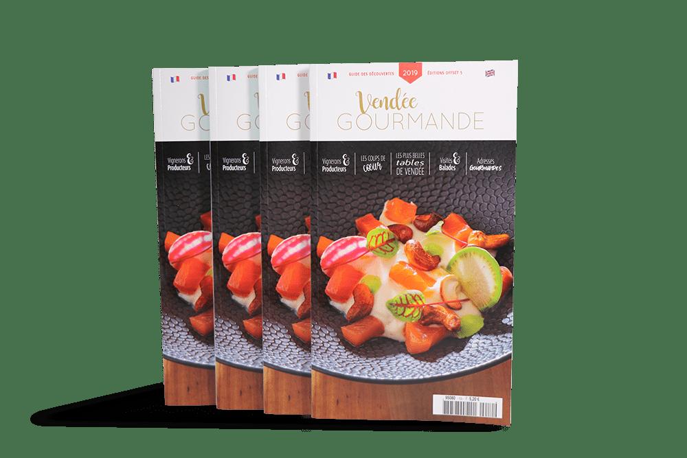 """""""Vendée Gourmande"""" Le guide gastronomique Vendéen"""
