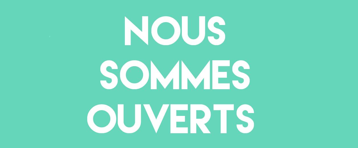 NOUS SOMMES OUVERTS - Groupe Offset 5 Édition