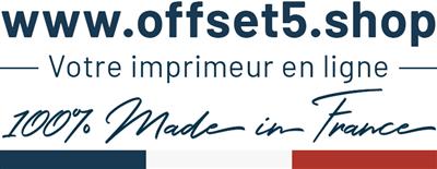 Logo offset5.shop - Créez votre cahier personnalisé en quelques clics.